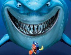 Nemo <3some days I feel like Dory and Nemo and others I feel like the shark!