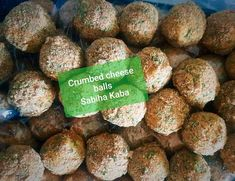Crumbed Cheese Balls recipe by Sabiha Y Kaba