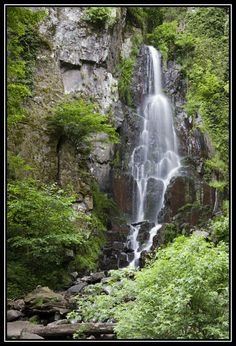 Nideck Waterfall -- Oberhaslach, Bas-Rhin, Alsace, France