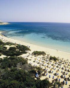 Coral Bay Beach, Cyprus in November 2014