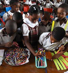The drawing begins in Haiti.