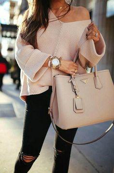 Prada Bag / work tote bag - Outfits for Work - Prada Bag / work tote bag - Prada Bag, Prada Handbags, Fashion Handbags, Luxury Handbags, Cheap Handbags, Popular Handbags, Popular Purses, Purses And Handbags, Gucci Purses