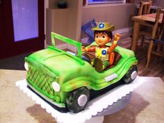 Deago Jeep Birthday Cake   By Curtis-C-Cakes