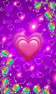 Wallpaper… By Artist Unknown… Source by Phone Screen Wallpaper, Heart Wallpaper, Purple Wallpaper, Glitter Wallpaper, Purple Backgrounds, Wallpaper Iphone Cute, Love Wallpaper, Cellphone Wallpaper, Colorful Wallpaper