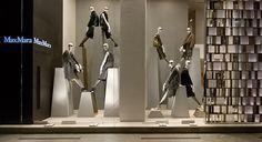 Max Mara windows 2014 Fall, Milan – Italy window display