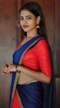 Half Saree, I Am Awesome, Sari, Fashion, I'm Awesome, Saree, La Mode, Fashion Illustrations, Fashion Models