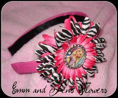 Tangled Inspired Headbanddetachable FlowerOne by Emmandjensflowers, $8.00