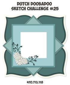 Hallo allemaal,     Vandaag start de Challenge van maart en dat is me toch weer een leuke! Kijk maar eens...         Deze maand een Shape A...