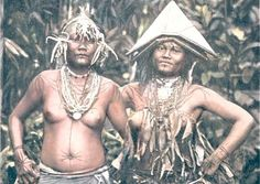 Image: Haabet2003 Mentawei women sporting facial tattoos. The Mentawei people of the Mentawei Islands off Sumatra's west coast are not only one of Indonesia's most notable tattoo cultures but also one that has remained unchanged to this day. Among the Mentawei, the whole body is tattooed and especially for the men becomes a book that tells the story of successful hunts and other important events in life. The Mentawei are said to have inhabited their islands somewhere between 2000 and 500 BC.
