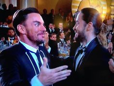 THE LETO BROS, JARED LETO WINS BEST SUPPORTING ACTOR FOR DALLAS BUYERS CLUB, GOLDEN GLOBES 2014!