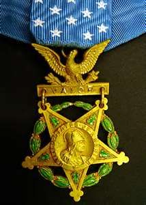 "This Medal of Honor was awarded to James H. ""Jimmy"" Doolittle by President Franklin D. Roosevelt after the famous April 1942 bombing raid over Japan during World War II."