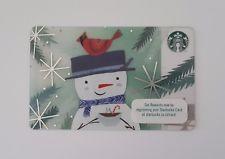 Starbucks Card Indonesia 2017 - Snowman