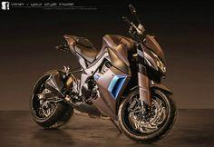 Vilner Kawasaki Z1000 (13) | Motoroids.com