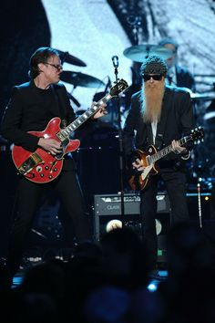 Joe Bonamassa and Billy Gibbons...  Just loooove Joe Bonamassa!!