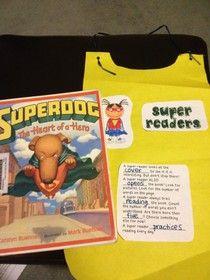 Ms. O Reads Books: Super Reader Capes Recap & Download