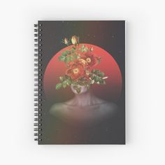 """""""She Blooms"""" Spiral Notebook by ind3finite 