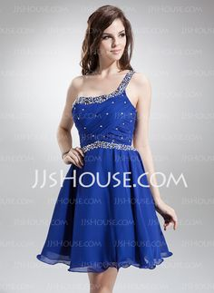 Homecoming Dresses - $129.99 - A-Line/Princess One-Shoulder Knee-Length Chiffon Homecoming Dress With Ruffle Beading Sequins (022008944) http://jjshouse.com/A-Line-Princess-One-Shoulder-Knee-Length-Chiffon-Homecoming-Dress-With-Ruffle-Beading-Sequins-022008944-g8944?no_banner=1&utm_source=facebook&utm_medium=post&utm_campaign=6005941673279&utm_content=130924L_8
