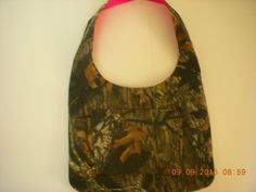 SALE Take 20% Off at checkout Mossy Oak Breakup Camo and Pink Leopard Print by LoveToSewBags