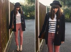 Without jacket and hat. Leopard Print Loafers, How To Wear Loafers, Sarah B, Duffle Coat, Cold Weather Outfits, Colored Jeans, Everyday Fashion, Dress Outfits, Dresses