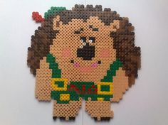 Mr. Pricklepants Toy Story hama perler beads