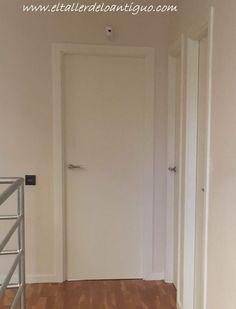pintar las puertas de casa Chalk Paint, Tall Cabinet Storage, Doors, Diy, Furniture, Home Decor, Ideas, Paint Interior Doors, Infinity Pool Backyard