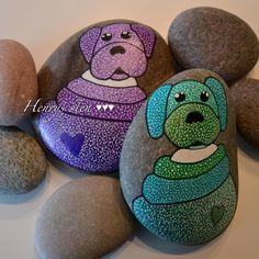 #stoneart #stonepainting #malpåsten #rockpug #handmade #stoneart #kunst #mydog #pugsofinstagram