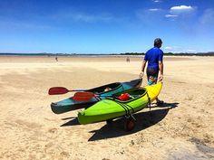 https://flic.kr/p/Br8iF1 | Where did the water go??? Thanks for wheeling the kayaks all the way to the water @frostcovered :) X #upsticksandgo #exploring #beachlife #greensbeach #beach #travel #tasmania #tassiecoast #instagood #instatravel #instagram #discovertasmania #michfrost #k