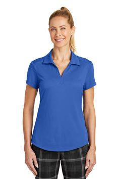 Nike Ladies' polo, Tailored, Y-neck  #embroidery #ScreenPrinting #PortAuthorityClothing #CustomEmbroidery #CustomPolo #CustomLogo #ApronEmbroidery
