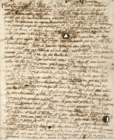 Marie Antoinette's heart breaking last letter to her children, stained by tears. 1793
