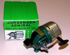 1000 images about vintage fishing equipment on pinterest for Push button fishing reel