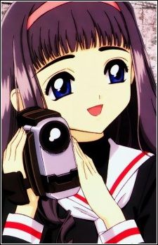 "Tomoyo Daidouji from ""Card Captor Sakura"" series by manga artist group CLAMP."