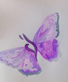 beautiful! the butterfly is the symbol for recovery and with our ED symbol in the middle just adds to the beauty!