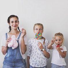 Фотограф Доминик Дэвис и ее дочери
