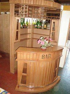 Build Your Own DIY Home Bar Mini Bar At Home, Diy Home Bar, Modern Home Bar, Diy Bar, Bars For Home, Corner Home Bar, Corner Bar Cabinet, Home Bar Cabinet, Building A Home Bar