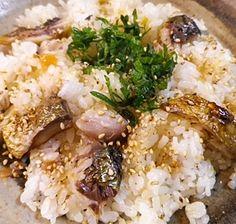 簡単、焼きしめ鯖の梅混ぜご飯