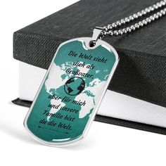 Großvater Geschenk | German Grandpa Gift | Großvater Dog Tag | German Sayings | Christmas Großvater | Stainless Dog Tag | Male Pendant #Germangrandpagift #Großvatersayings #Großvaterdogtag Engraved Dog Tags, Personalized Gifts For Dad, Engraved Gifts, Grandfather Gifts, Grandpa Gifts, Sister In Law Gifts, Gifts For Father, Engraved Necklace, Dog Tag Necklace