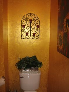 Benjamin Moore S Metallic Gold Paint Over Black Base Also T P Cabinet The Champagne Room By David Pinterest
