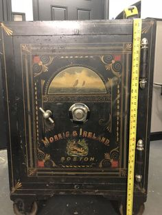 Used, in great shape! Comes with combination. Local pick up only Antique Safe, Safe Vault, Vault Doors, Deposit Box, Moving To Florida, Secret Rooms, Vaulting, Locks, Shape