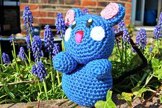 For any Pokemon fans out there you can use this free pattern to crochet your own amigurumi Azurill!