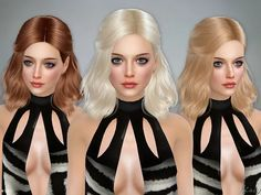 Haley Female Hairstyle - The Sims 4 Download - SimsDomination