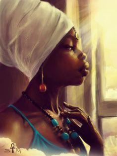 """Looking Through My Great Grandmother's Window"" by Sheeba Maya"