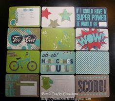 Pam's Crafty Creations: CTMH Page Protectors, Picture My Life & Albums Page Protectors, Super Powers, Project Life, Albums, My Life, Scrapbooking, Crafty, Cool Stuff, Projects