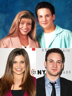"I wish I looked this good in the 90""s!  '90s Kids: Then & Now...Ben Savage & Danielle Fischel from Boy meets World"