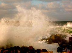 Waves in the storm, Karmøy. Norway. Photo by Tone Lepsøe.