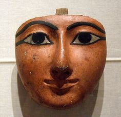 Egyptian funeral mask