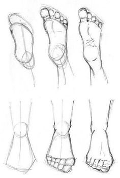 How to draw feet cuz idkHow to draw legs part Rules of geometry and body structureReference guide step by step drawing female torso.Step by Step drawing lessons easy pencil drawing lessons for beginners Art Drawings Sketches Simple, Pencil Art Drawings, Easy Drawings, Body Sketches, Character Sketches, Doodle Drawings, Character Design, How To Draw Sketches, Drawings Of Hair