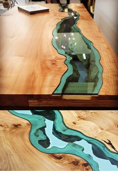 20 Of The Most Unique Desk and Table Designs Ever - 1 River Desk 1