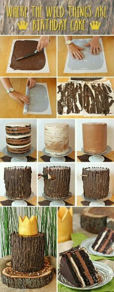 Obloga od cokolade za tortu (birthday cake man)