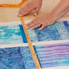 Our Best Tips for Machine-Quilting...Whether you quilt a project yourself or send it to a professional long-arm  quilter, you'll get better results if you prepare it properly. See our best tips for getting perfect quilting on your finished quilt!
