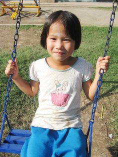 A student at the orphanage - Volunteer with goEco in Thailand with the Learn, Volunteer  program - For more information visit the project site at http://www.goeco.org/project/24/Volunteer_in_Thailand_Learn,_volunteer_and_travel